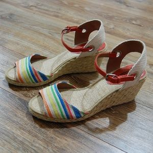 Lucky Brand Kendra Espadrille Wedges